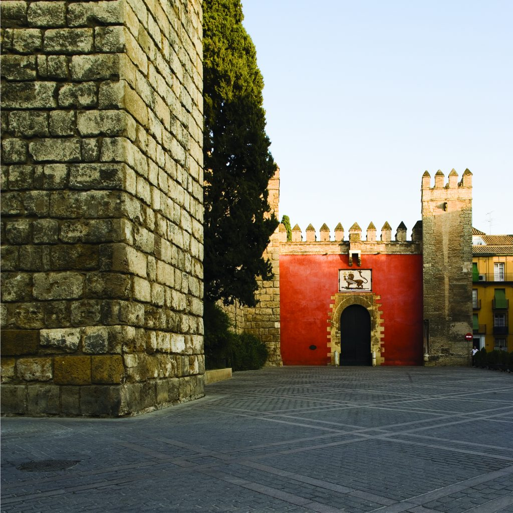 Puerta del León. Alcázar de Sevilla. Arq. José María Cabeza-Méndez
