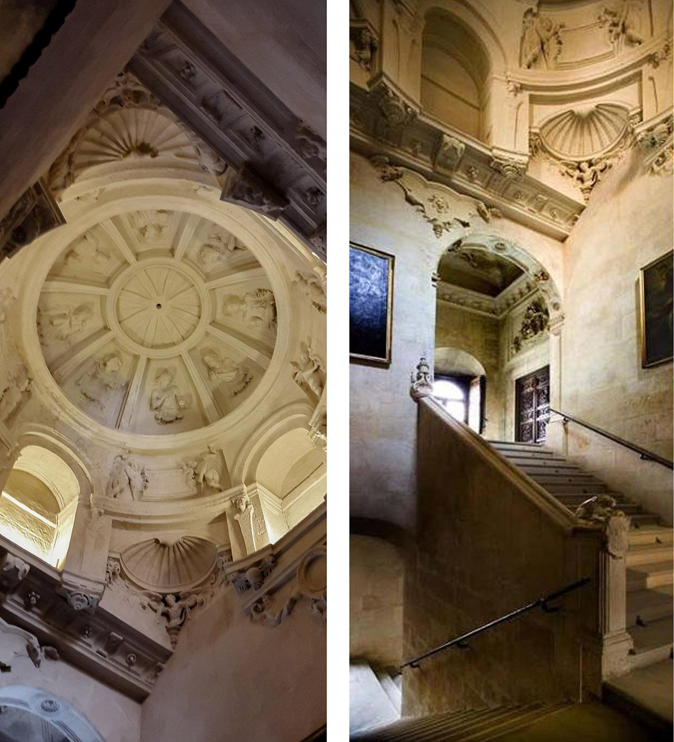 Cúpula Renacentista de la Casa Consistorial de Sevilla. Mortero pétreo CUMEN