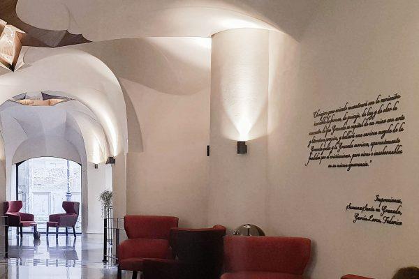 14. Mortero Pétreo. Color Lobby. Interior