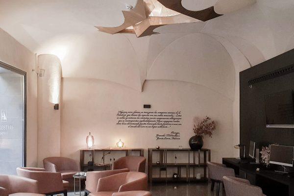 17. Mortero Pétreo. Color Lobby. Interior