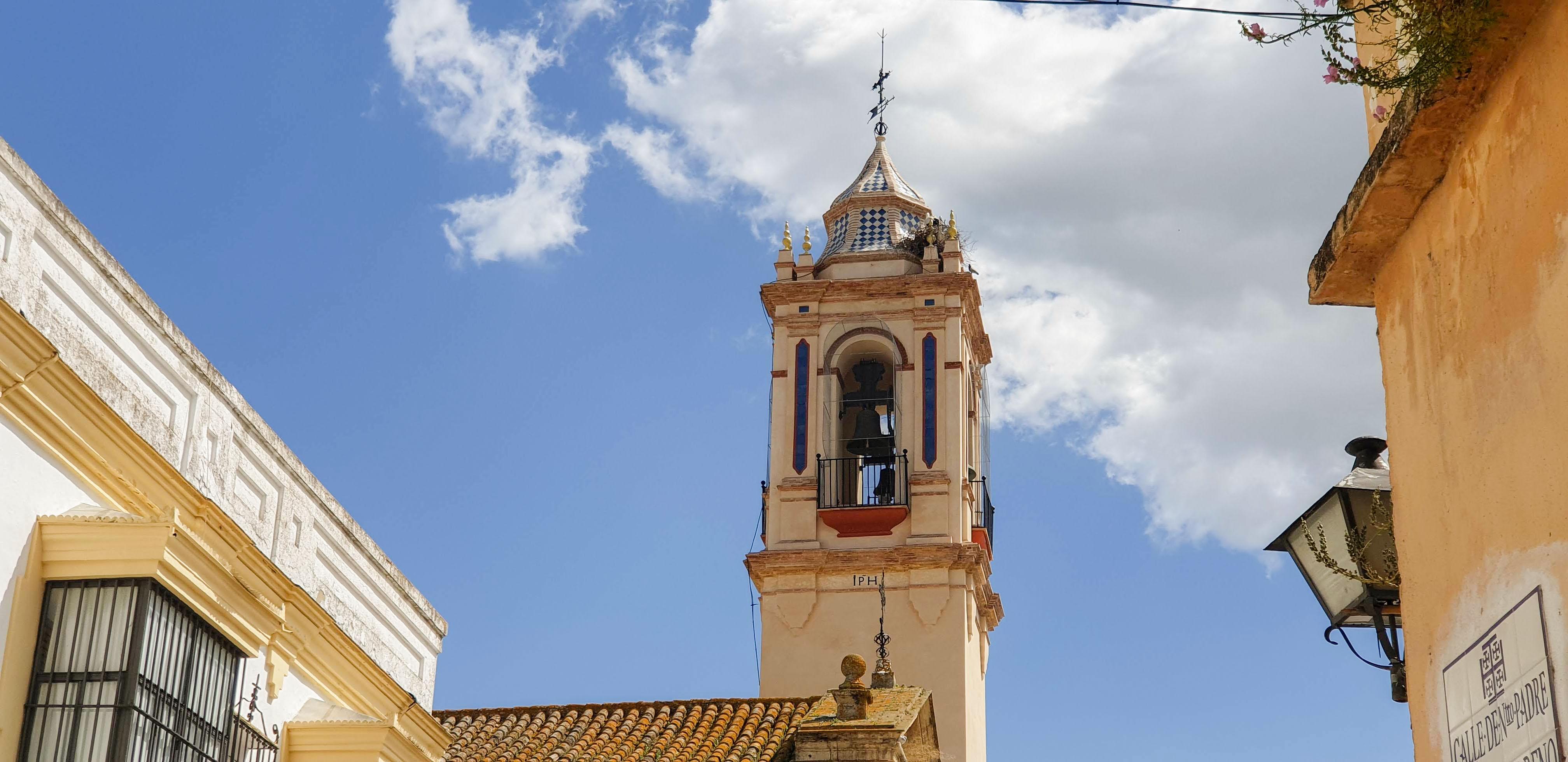 Restauración de la Torre Campanario de la Iglesia Parroquial Santo Domingo de Guzmán de Bornos (Cádiz)
